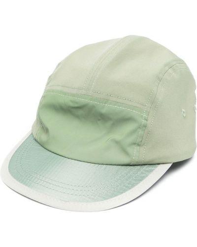 Zielona czapka do biegania Satisfy