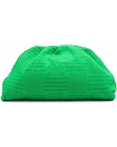 Zielona kopertówka Bottega Veneta