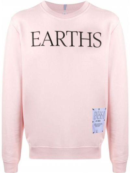 Bluza dresowa - różowa Mcq Alexander Mcqueen
