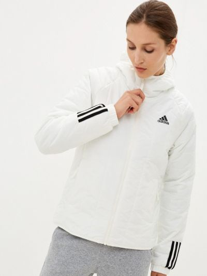 Утепленная куртка - белая Adidas