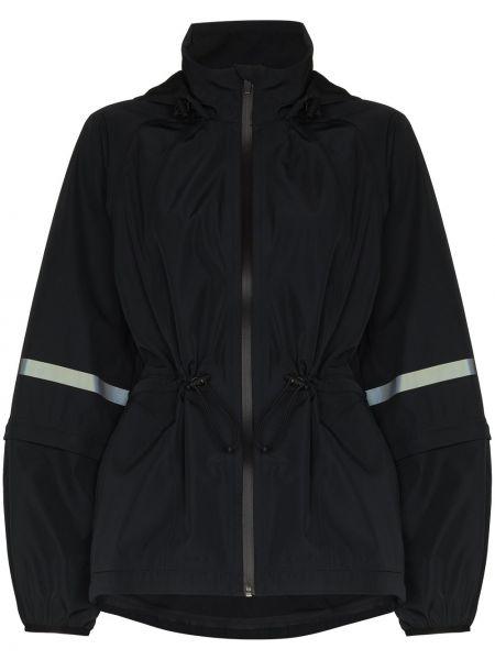 Czarna długa kurtka z długimi rękawami Sweaty Betty