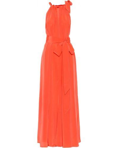 Коралловое летнее платье Kalita