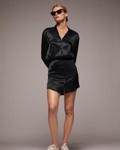 Платье - черное Zara