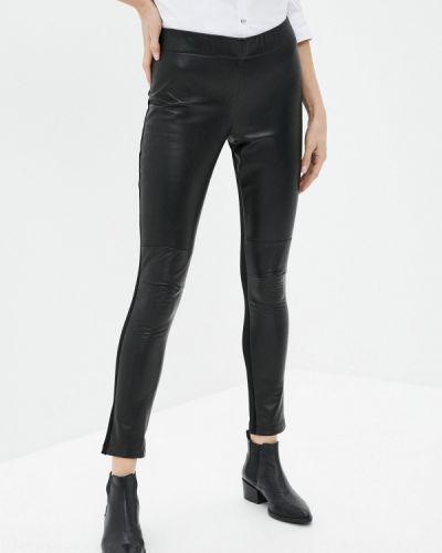 Кожаные черные брюки Alpha Studio