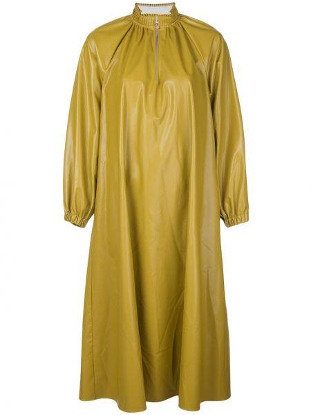 Облегающее платье со складками трапеция Tibi