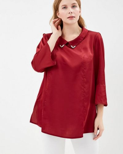 Блузка красная бордовый Silver String