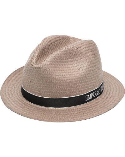 Шляпа узкого кроя Emporio Armani