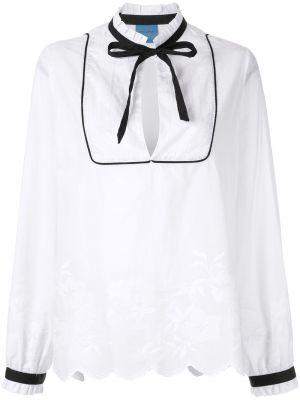 Блузка с длинным рукавом с завязками Macgraw