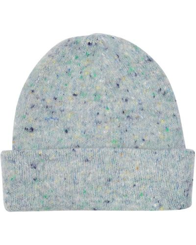 Szara czapka wełniana Acne Studios