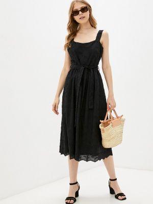 Черное турецкое платье Lusio