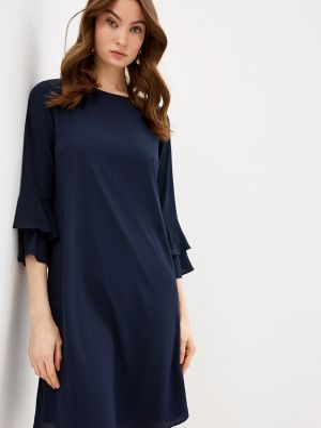 Платье прямое синее Wallis