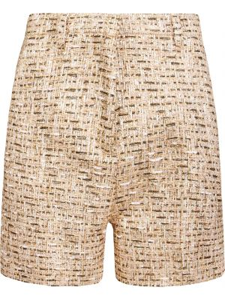 Хлопковые шорты - бежевые Rochas
