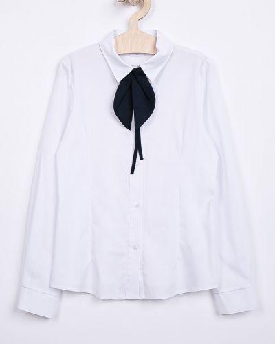 Белая блуза с воротником Sly