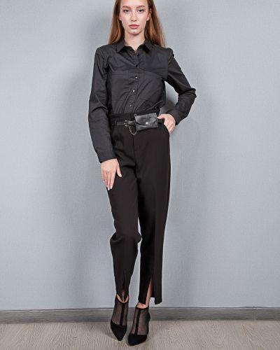 Черные хлопковые брюки Ytq