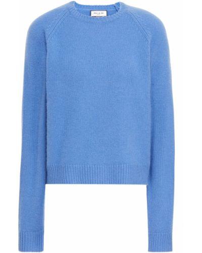 Синий кашемировый свитер Paul & Joe