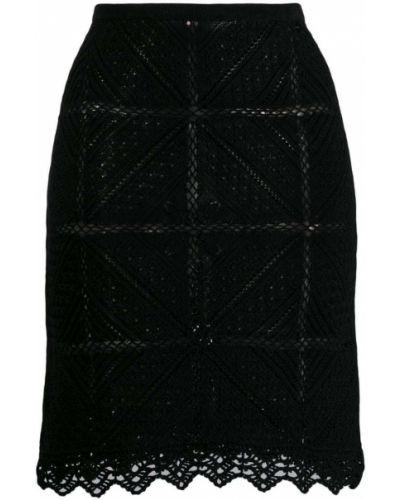 Юбка мини винтажная с поясом Chanel Vintage