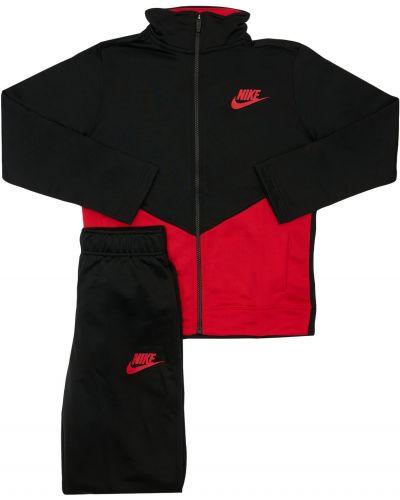 Черный спортивный костюм с манжетами на резинке Nike