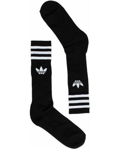 Спортивные носки однотонные хлопковые Adidas Originals