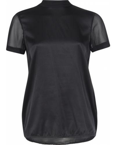 Блузка шелковая черная Twin-set