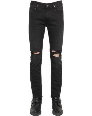 Czarne jeansy April 77
