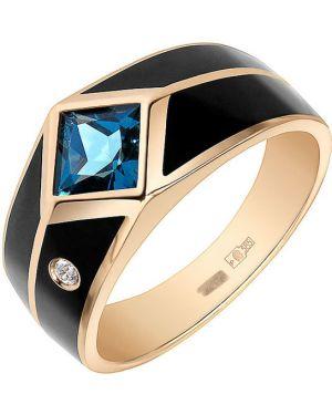 Кольцо с декоративной отделкой черный Graf кольцов