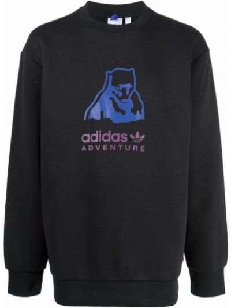 Bluza dresowa - czarna Adidas
