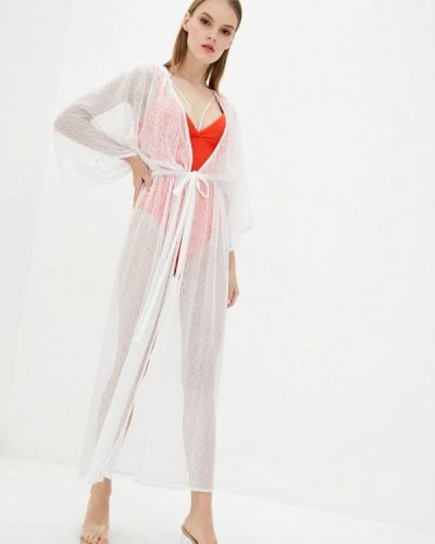 Пляжное белое платье Love's Swimwear