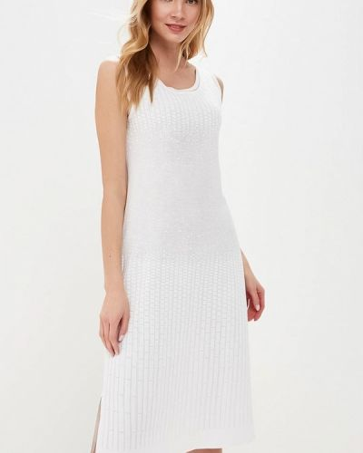 Платье свободного кроя - белое Free Age