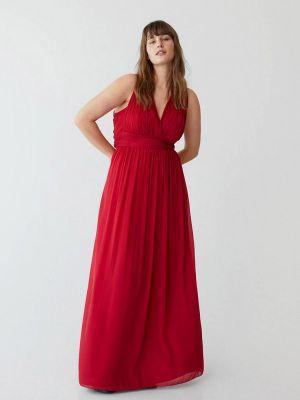 Красное вечернее платье Violeta By Mango