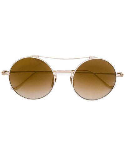 Солнцезащитные очки круглые Chrome Hearts