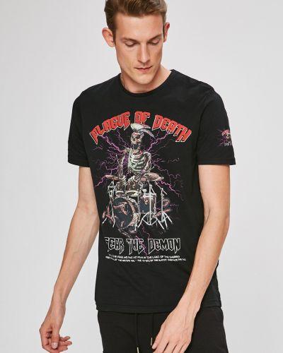 Черная футболка Brave Soul