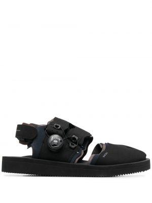 Czarne sandały Suicoke