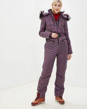 Комбинезон фиолетовый теплый Baon