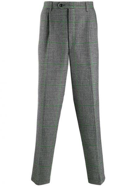 Spodnie wełniane z paskiem Lc23