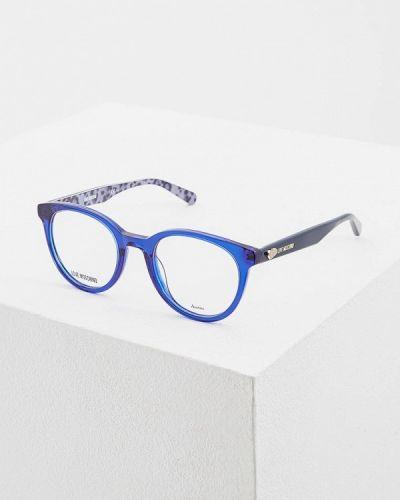 Синяя оправа Love Moschino