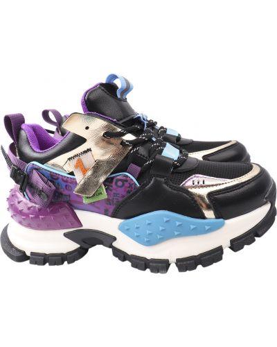 Кожаные кроссовки Arees Meniwa