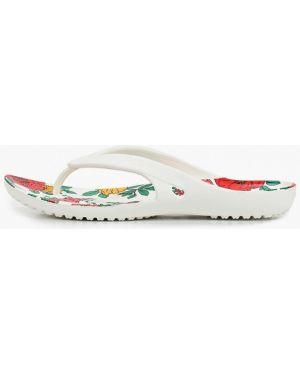 Сланцы пляжные белые Crocs