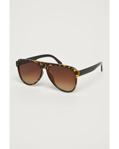 Солнцезащитные очки стеклянные коричневый Medicine