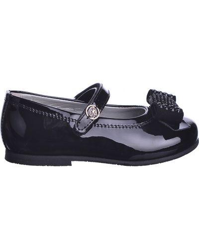 Туфли лаковые черные Miss Blumarine