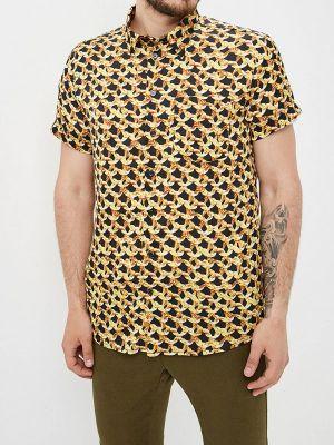 Рубашка с короткими рукавами желтый Pavel Yerokin