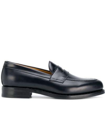Кожаные туфли классические синий Berwick Shoes