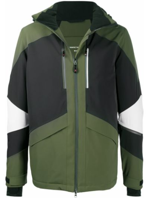 Куртка с капюшоном - зеленая Perfect Moment