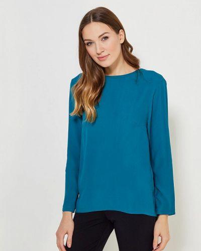 Блузка бирюзовая весенний Femme