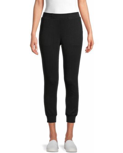 Черные брюки с карманами с манжетами T-tahari