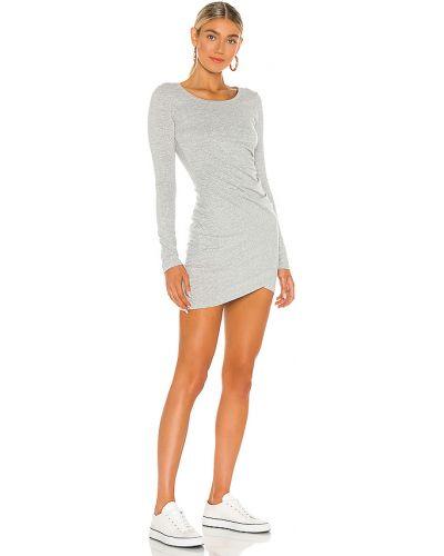 Włókienniczy bawełna światło sukienka bodycon z falbankami Bobi