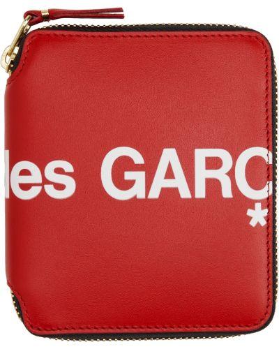 Portfel skórzany - biały Comme Des Garcons Wallets