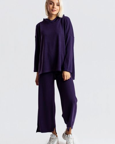 Костюмный фиолетовый спортивный костюм Milalux