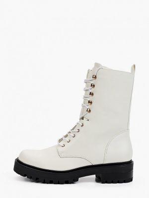 Белые кожаные ботинки Ideal Shoes®