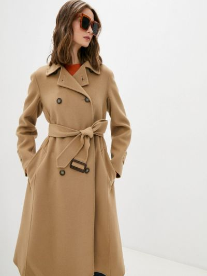 Пальто - бежевое Weekend Max Mara