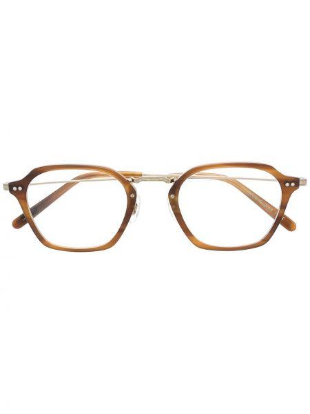 Brązowy prosto oprawka do okularów plac Oliver Peoples